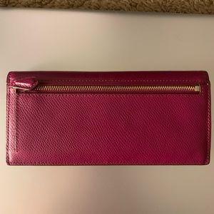 Coach Bags - Slim Fushia Coach Wallet